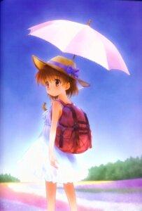Rating: Safe Score: 18 Tags: binding_discoloration clannad clannad_after_story dress goto-p jpeg_artifacts okazaki_ushio summer_dress User: yumichi-sama