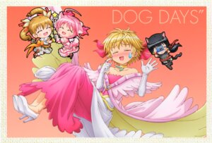 Rating: Safe Score: 13 Tags: animal_ears chibi dog_days dress heels millhiore_f_biscotti shinku_izumi tail thighhighs User: DDD