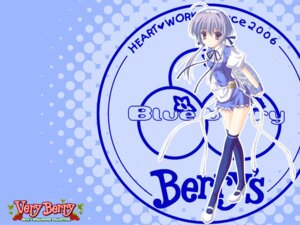 Rating: Safe Score: 20 Tags: berry's nanao_naru satou_natsuki thighhighs waitress wallpaper User: admin2