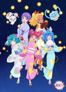 Rating: Safe Score: 10 Tags: pretty_cure star_twinkle_precure tagme yukata User: saemonnokami