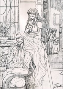Rating: Safe Score: 11 Tags: bleed_through charles_di_britannia code_geass kimura_takahiro lelouch_lamperouge marianne_vi_britannia monochrome nunnally_lamperouge User: yumichi-sama