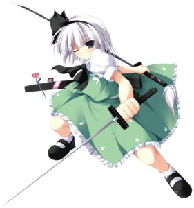 Rating: Safe Score: 20 Tags: konpaku_youmu sword tateha touhou User: youliao