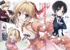 Rating: Safe Score: 30 Tags: dress_na_boku_ga_yangoto_naki_katagata_no_kateikyoushi_sama_na_ken karory seira_shiruwien sherlock_doyle trap User: milumon