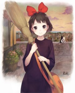 Rating: Safe Score: 60 Tags: jiji_(majo_no_takkyuubin) kiki majo_no_takkyuubin neko shouin User: Radioactive