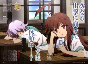 Rating: Safe Score: 32 Tags: kantai_collection kuma_(kancolle) matsumoto_mayuko seifuku tama_(kancolle) User: drop