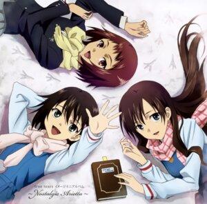 Rating: Safe Score: 15 Tags: ando_aiko disc_cover isurugi_noe seifuku true_tears yuasa_hiromi User: Kalafina