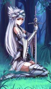 Rating: Safe Score: 76 Tags: armor lenessia_el_arte_cowen log_horizon nian reinesia_el_arte_cowen stockings sword thighhighs User: Romio88