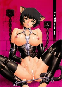 Rating: Explicit Score: 29 Tags: animal_ears bondage bottomless breasts censored hq's kajiyama_hiroshi nekomimi nipples pussy scanning_artifacts tail thighhighs wet User: Radioactive