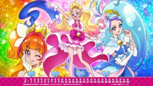 Rating: Safe Score: 7 Tags: amanogawa_kirara calendar dress go!_princess_pretty_cure haruno_haruka kaidou_minami pretty_cure wallpaper User: minakomel