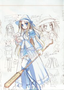 Rating: Safe Score: 3 Tags: carina_verritti character_design ko~cha shukufuku_no_campanella sketch thighhighs User: admin2