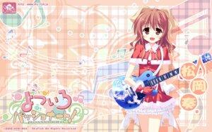 Rating: Safe Score: 11 Tags: christmas guitar hinata_mutsuki matsuoka_kanade skyfish wallpaper yotsuiro_passionato! User: jack09335