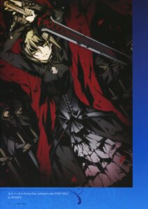 Rating: Safe Score: 23 Tags: bunbun dress fate/stay_night saber saber_alter sword type-moon User: fireattack