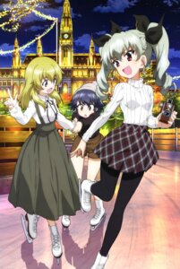 Rating: Safe Score: 23 Tags: anchovy carpaccio girls_und_panzer ice_skating pantyhose pepperoni sweater User: drop