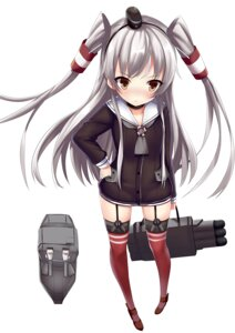 Rating: Safe Score: 46 Tags: aixioo amatsukaze_(kancolle) kantai_collection rensouhou-chan stockings thighhighs User: tbchyu001