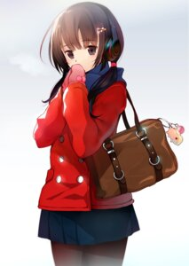 Rating: Safe Score: 61 Tags: headphones machimura_komori pantyhose seifuku User: blooregardo