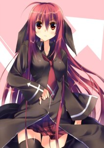 Rating: Safe Score: 38 Tags: kuwashima_rein shidou_akane thighhighs User: SubaruSumeragi