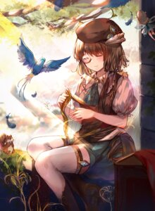 Rating: Safe Score: 18 Tags: elise_(piclic) fairy heels megane pointy_ears thighhighs wings User: Mr_GT