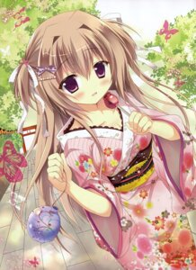 Rating: Safe Score: 74 Tags: azumi_kazuki cleavage yukata User: drop