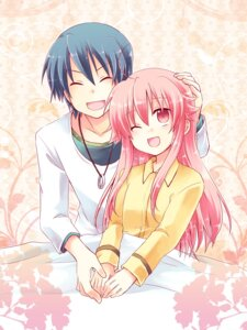 Rating: Safe Score: 24 Tags: angel_beats! hinata_(angel_beats!) kousetsu yui_(angel_beats!) User: fairyren