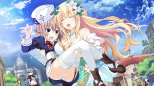 Rating: Safe Score: 56 Tags: blanc choujigen_game_neptune cleavage dress four_goddesses_online:_cyber_dimension_neptune game_cg heels pantsu stockings tamsoft_(choujigen_game_neptune) thighhighs tsunako vert witch User: Nepcoheart