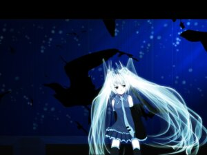 Rating: Safe Score: 22 Tags: hatsune_miku meola vocaloid wallpaper User: charunetra
