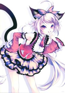 Rating: Safe Score: 17 Tags: animal_ears dress mogami_rio nekomimi nekoyanagi tail User: popscial