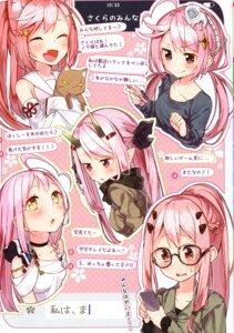 Rating: Safe Score: 8 Tags: animal_ears horns japanese_clothes megane neko pointy_ears sakuragi_ren sweater User: kiyoe