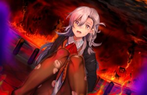 Rating: Safe Score: 26 Tags: dress fate/grand_order nochita_shin olga_marie_animusphere pantyhose torn_clothes User: charunetra