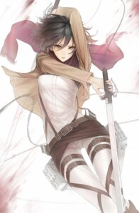 Rating: Safe Score: 71 Tags: mikasa_ackerman minevi shingeki_no_kyojin sword uniform User: Radioactive