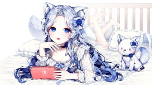 Rating: Questionable Score: 27 Tags: animal_ears cleavage ha_youn see_through tail User: Dreista