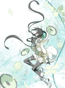 Rating: Questionable Score: 38 Tags: dress garter headphones izumito pantyhose vocaloid xia_yu_yao User: 麻里子