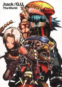 Rating: Safe Score: 5 Tags: .hack// .hack//g.u. haseo pi tri-edge User: Radioactive