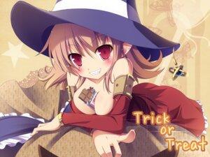 Rating: Safe Score: 48 Tags: cleavage elf halloween masaki_(machisora) pointy_ears User: fairyren