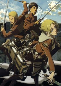 Rating: Safe Score: 18 Tags: annie_leonhardt bertholt_fuber reiner_braun shingeki_no_kyojin User: Radioactive
