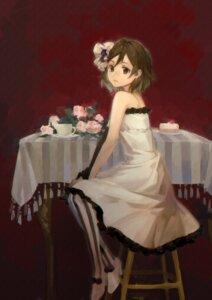 Rating: Safe Score: 9 Tags: dress heels hirasawa_yui k-on! kaeeeee pantyhose User: charunetra