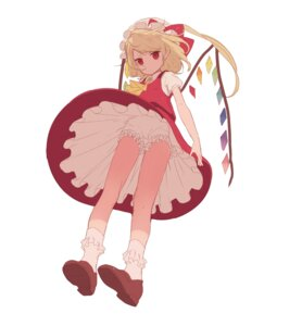 Rating: Questionable Score: 28 Tags: bloomers dress flandre_scarlet misoni_comi touhou wings User: nphuongsun93