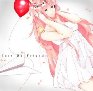 Rating: Safe Score: 21 Tags: dress hatsuko just_be_friends_(vocaloid) megurine_luka vocaloid User: charunetra