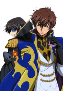 Rating: Safe Score: 6 Tags: akito_the_exiled code_geass eyepatch kururugi_suzaku lelouch_lamperouge User: drop