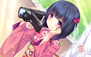 Rating: Safe Score: 46 Tags: kimono minazuki_shigure neko_para neko_works sayori wallpaper User: Mr_GT