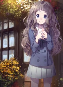 Rating: Safe Score: 42 Tags: cici kyoukai_no_kanata seifuku shindou_ai User: Radioactive