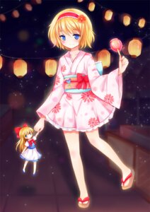 Rating: Safe Score: 31 Tags: alice_margatroid nikoo shanghai touhou yukata User: 椎名深夏