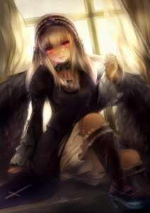 Rating: Safe Score: 57 Tags: dress gothic_lolita harusame_ringo heels lolita_fashion rozen_maiden suigintou wings User: mash