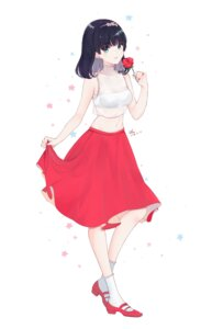 Rating: Safe Score: 28 Tags: chu_(huaha1320) heels see_through signed skirt_lift User: RyuZU