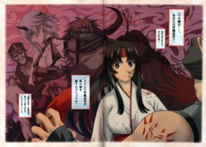 Rating: Questionable Score: 14 Tags: blood cleavage crease eiwa miko queen's_blade shizuka tomoe User: YamatoBomber