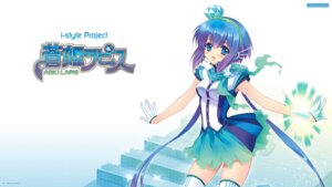 Rating: Questionable Score: 32 Tags: aoki_lapis carnelian studio_deen thighhighs vocaloid User: fly24