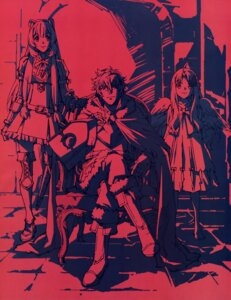 Rating: Safe Score: 17 Tags: animal_ears armor dress monochrome tagme tate_no_yuusha_no_nariagari thighhighs User: drop