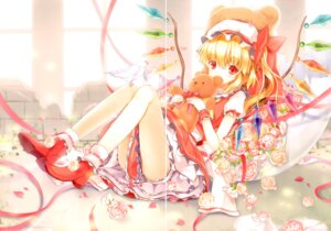 Rating: Questionable Score: 5 Tags: 6u crease flandre_scarlet touhou wings User: Radioactive