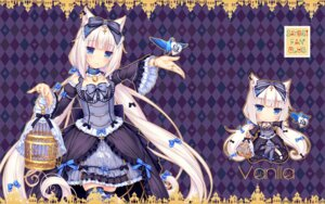 Rating: Questionable Score: 39 Tags: animal_ears chibi gothic_lolita halloween lolita_fashion neko_works nekomimi nekopara sayori thighhighs vanilla wallpaper User: Anonymous
