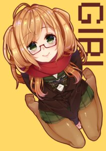 Rating: Safe Score: 26 Tags: megane pantyhose seifuku sherypton sweater User: Mr_GT