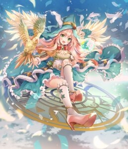 Rating: Questionable Score: 33 Tags: cleavage heels melings_(aot2846) tagme wings witch User: Dreista